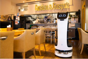 自動配膳ロボットBellaBot